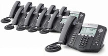 Polycom Soundpoint IP650 PoE 10-Pack