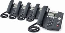 Polycom Soundpoint IP450 AC 5-Pack