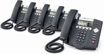 Polycom Soundpoint IP450 PoE 5-Pack
