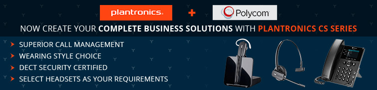 Complete Business Solutions With Plantronics CS Series