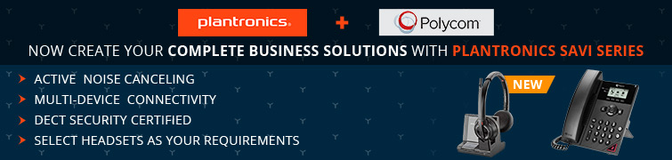 Complete Business Solutions With Plantronics SAVI Series