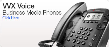 VVX Voice Business Media Phone