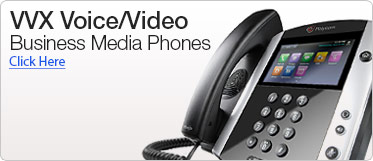 VVX Voice/Video Business Media Phone