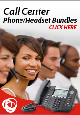 Polycom Call Center Phone / Headset Bundles