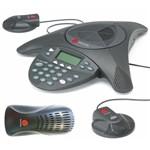 Polycom 2200-16200-001-R w/ EX Mics SoundStation 2 EX with 2 EX Mics