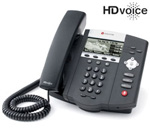 Polycom 2200-12450-001-1Year SoundPoint IP 450 3-Line IP Phone with AC