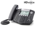 Polycom 2200-12550-001-1Year SoundPoint IP 550 4-Line IP Phone with AC