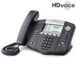 Polycom 2200-12651-001-2Year SoundPoint IP 650 6-Line IP Phone w/ AC