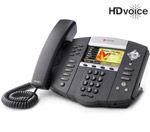 Polycom 2200-12670-025-2Year SoundPoint IP 670 6-Line IP Phone (POE)