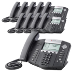 Polycom 2200-12550-001-10 SoundPoint IP 550 4-Line IP Phone with AC