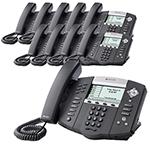 Polycom 2200-12651-001-10 SoundPoint IP 650 6-Line IP Phone w/ AC