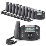Polycom 2200-12550-025-10 SoundPoint IP 550 4-Line IP Phone (POE)