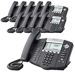 Polycom 2200-12651-025-10 SoundPoint IP 650 6-Line IP Phone (POE)