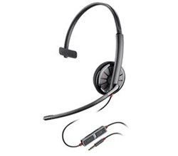 Headsets for Polycom Phones Plantronics Blackwire C215
