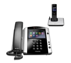 polycom 1 Handset polycom 2200 44600 001 vvx 600 with wireless handset