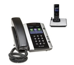polycom 1 Handset polycom 2200 44500 001 vvx 500 with wireless handset