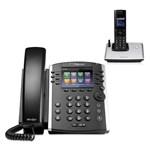 Polycom 2200-46162-001 w/ One Handset VVX 410 Business Media Phone