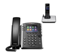 polycom 1 Handset polycom 2200 46162 001 vvx 410 with wireless handset