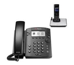 polycom 1 Handset polycom 2200 46161 001 VVX 310 with wireless handset