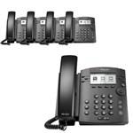 Polycom 2200-48300-025 (5-pack) 6-line Desktop Phone
