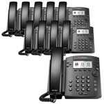 Polycom 2200-48350-025 (10-pack) 6-line Desktop Phone