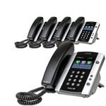 Polycom 2200-48500-025 (5-pack) VVX 501 12-line Business Media Phone