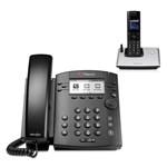 Polycom 2200-48350-025 w/ One Handset 6-line Desktop Phone