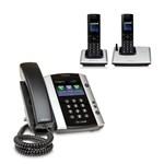 Polycom 2200-48500-025 w/ Two Handset VVX 501 12-line Business Media P