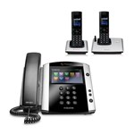 Polycom 2200-48600-025 w/ Two Handset VVX 601 16-line Business Media P