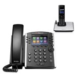 Polycom 2200-48450-001 w/ One Handset VVX 411 12-line Desktop Phone wi