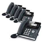 Yealink SIP-T42G-AC (5 Pack) Ultra-Elegant Gigabit IP