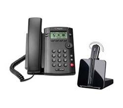 VVX 101 polycom vvx 101 with plantronics cs540