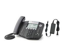 Polycom VoIP Phones polycom soundpoint ip 560 with power adapter