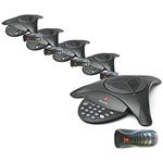 Polycom 2200-15100-001 (5-Pack) SoundStation 2 (Non-Expandable)