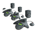 Polycom 2200-07142-001 (3-Pack) SoundStation VTX 1000