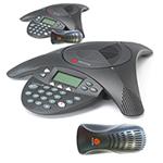 Polycom 2200-16000-001 (2-Pack) SoundStation 2 w/ LCD (Non-Expandable)