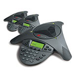 Polycom 2200-07300-001 (3-Pack) SoundStation VTX 1000 / No Mics / No S