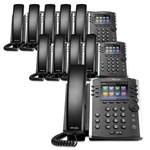Polycom 2200-46162-025 (10-Pack) 12-line Mid-Range Business Media Phon