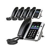 Polycom 2200-44600-025 (5-Pack) VVX600 Business Media Phone