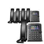 Polycom 2200-46157-025 (5-Pack) 12-line Mid-Range Business Media Phone
