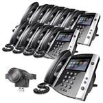 Polycom 2200-44600-025 2200-46200-025 (10-Pack) Business Media Phone