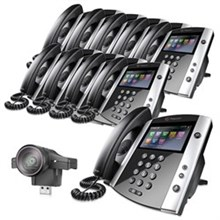 Polycom 16 Line Business Media Phones polycom 2200 44600 025 2200 46200 025