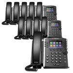 Polycom 2200-46157-025 (10-Pack) 12-line Mid-Range Business Media Phon