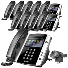 Polycom 16 Line Business Media Phones polycom 2200 44600 001 2200 46200 025 10pck