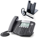 Polycom 2200-12560-025 w/ Headset Option