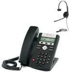 Polycom 2200-12365-025 w/ Headset Option-R SoundPoint IP 331 2-Line IP