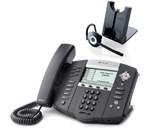 Polycom 2200-12651-001 w/ Headset Option-R VoIP Corded Phone with Incl