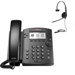 Polycom 2200-46161-025 w/ Headset Option 6-line Entry-Level Business M