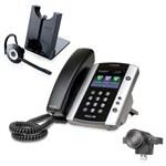 Polycom 2200-44500-001 w/ Headset Option VVX 500 Business Media Phone