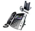Polycom 2200-44600-001 w/ Headset Option VVX 600 Business Media Phone